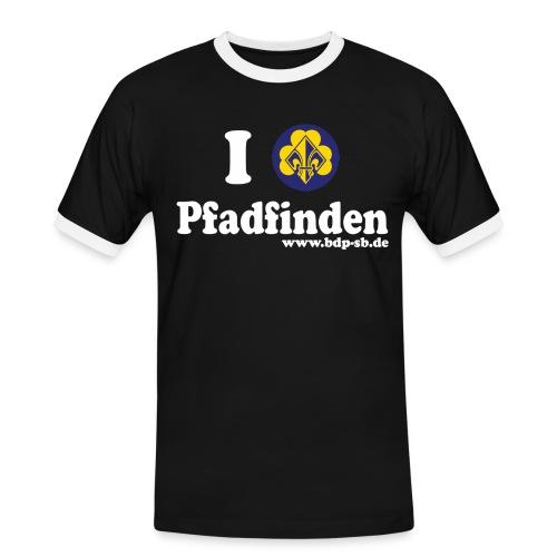 ilvepfadf - Männer Kontrast-T-Shirt