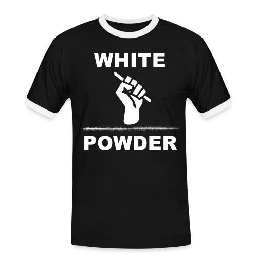 White Powder - Männer Kontrast-T-Shirt