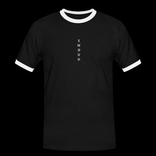 ENDUO - T-shirt contrasté Homme