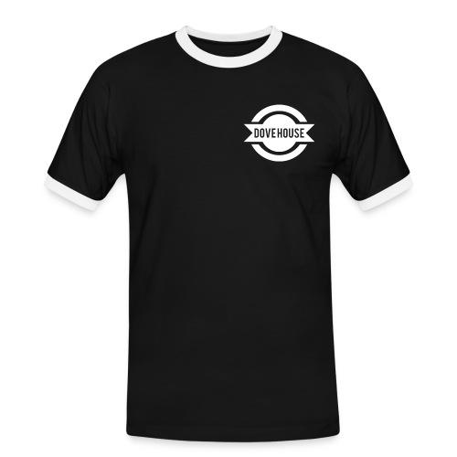 Dove House Logo White - Men's Ringer Shirt