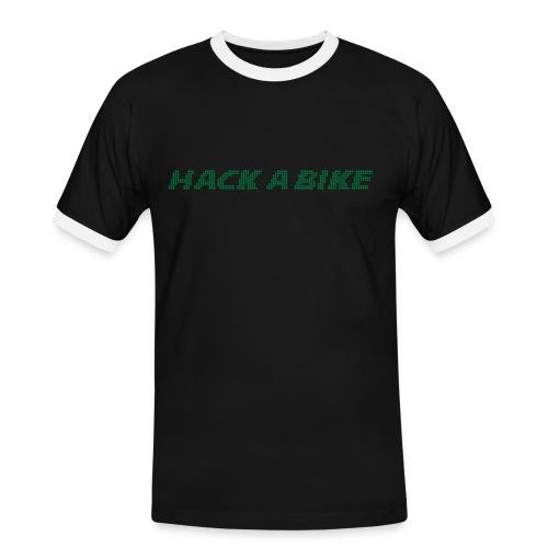 hackabike - Männer Kontrast-T-Shirt