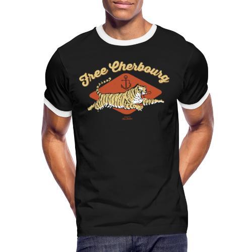Free Cherbourg - T-shirt contrasté Homme