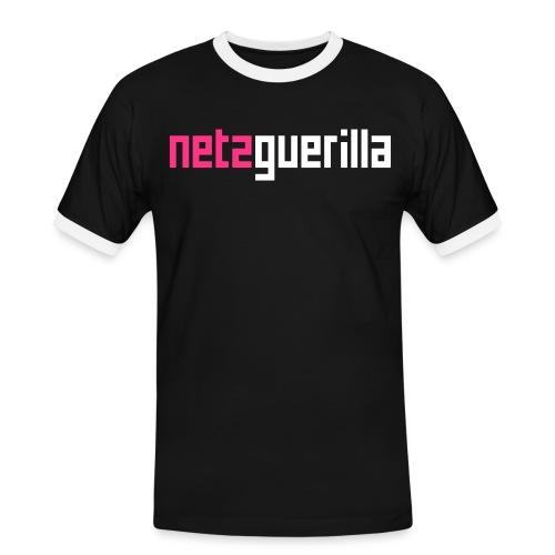 netzguerilla - Männer Kontrast-T-Shirt