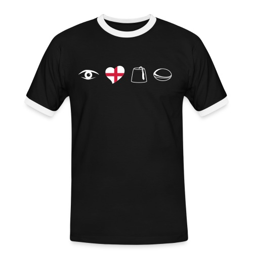 England Sarries - Men's Ringer Shirt