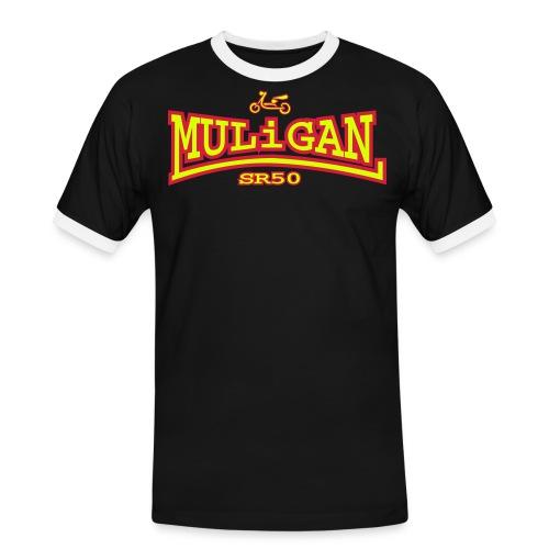 Muligan - Männer Kontrast-T-Shirt