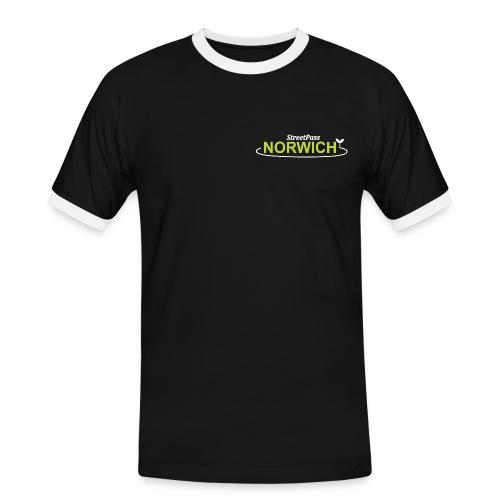 Streetpass NEW FOR PRINT png - Men's Ringer Shirt