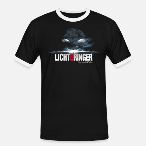 Lichtbringer - Männer Kontrast-T-Shirt