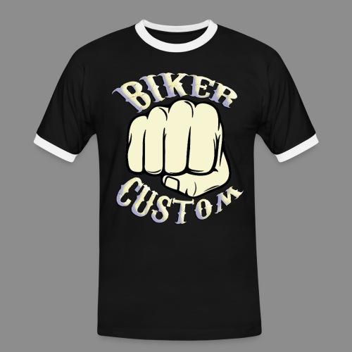 Biker Custom - Camiseta contraste hombre