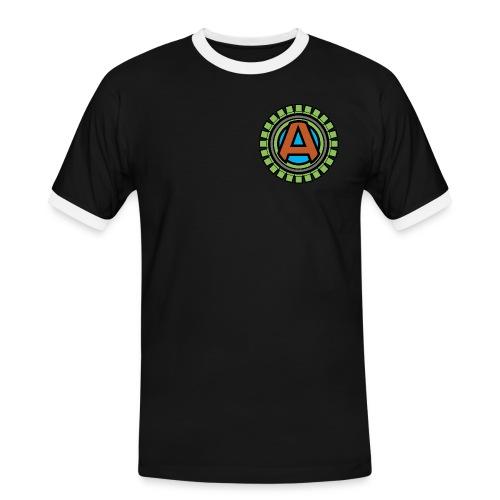 Abstact Main Logo 2015 - Herre kontrast-T-shirt