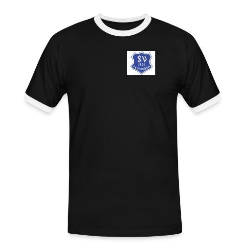 SVF Logo - Männer Kontrast-T-Shirt