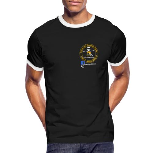 COMBO 2 - T-shirt contrasté Homme