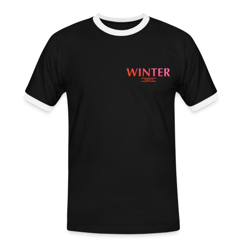winter 2055 - Männer Kontrast-T-Shirt