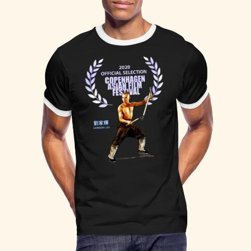 CAFF - Official Item - Shaolin Warrior 2 - Herre kontrast-T-shirt