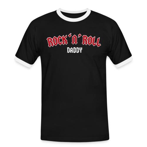 Rock 'n' Roll Daddy – lustige Geschenkidee - Männer Kontrast-T-Shirt