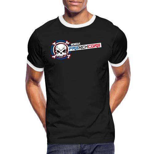 Frenchwear 13 - Männer Kontrast-T-Shirt