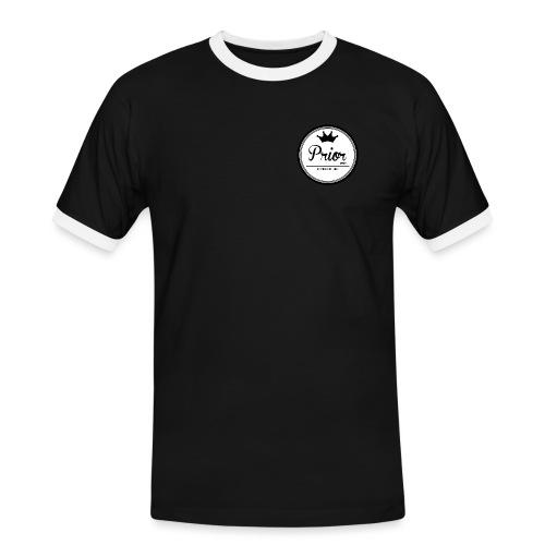 Prior Circle Logo png - Men's Ringer Shirt