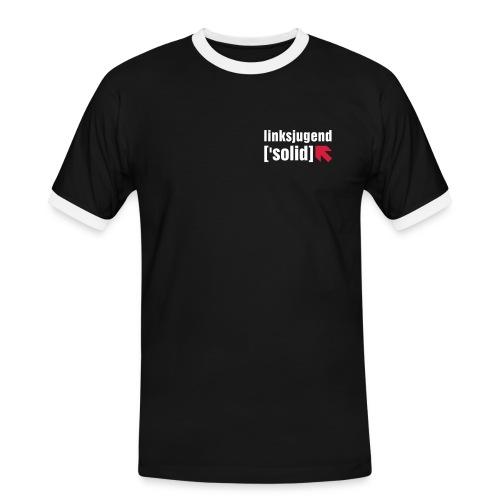 Linksjugend solid - Männer Kontrast-T-Shirt