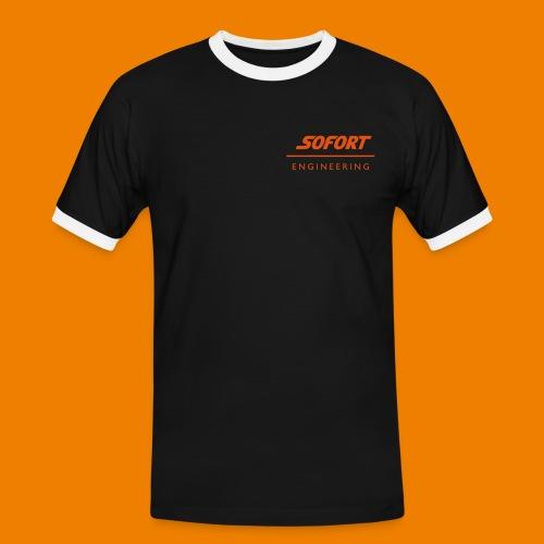 SOFORT_engineering - Männer Kontrast-T-Shirt