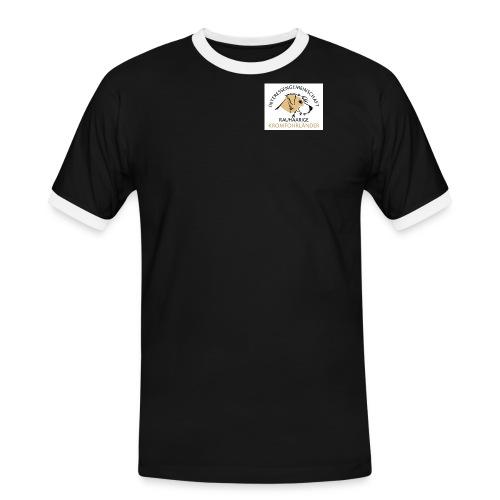 IGRK Logo klein - Männer Kontrast-T-Shirt
