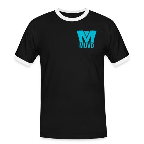 Crown Muvo Logo - Simple - Kontrast-T-shirt herr