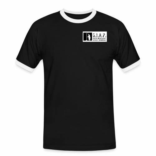 Orizontal_white - Maglietta Contrast da uomo