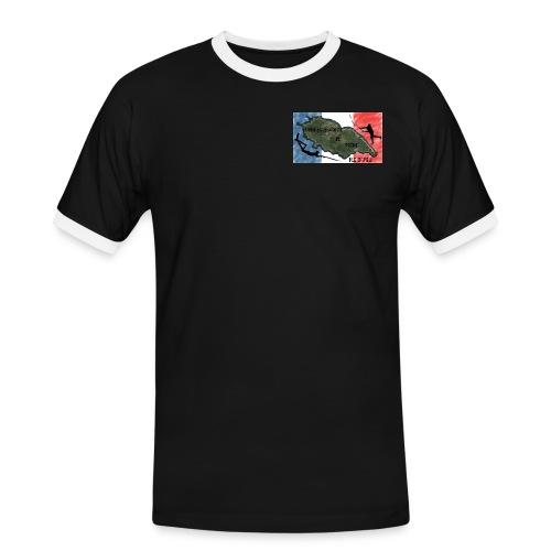 logo csm - T-shirt contrasté Homme
