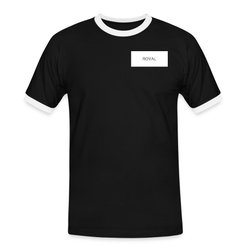 Royal - Männer Kontrast-T-Shirt