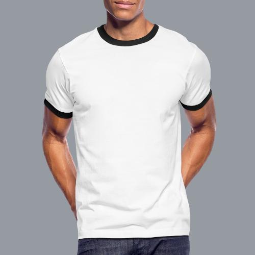 scubar fan weis - Männer Kontrast-T-Shirt