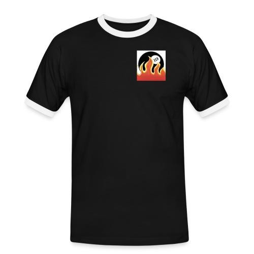 Burning H8 - Männer Kontrast-T-Shirt