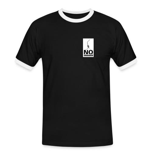 logo no - Männer Kontrast-T-Shirt