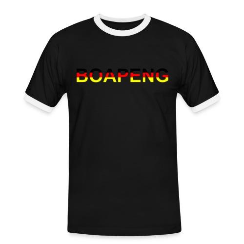 Boapeng - Männer Kontrast-T-Shirt