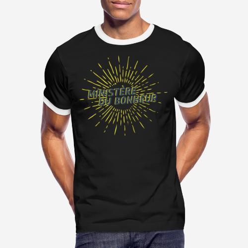 Ministère du Bonheur - T-shirt contrasté Homme
