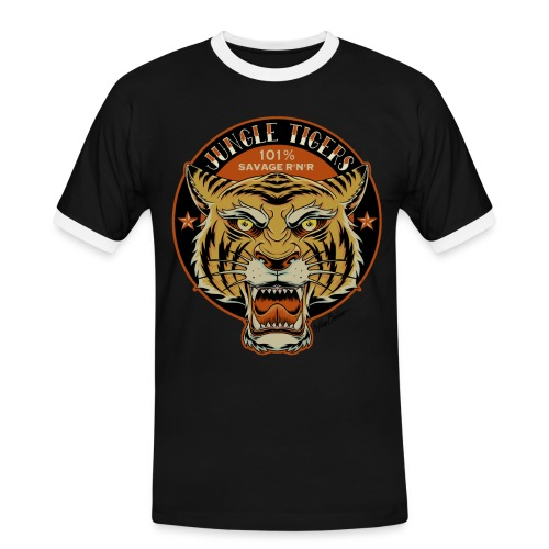 jungletigers2018 - Men's Ringer Shirt