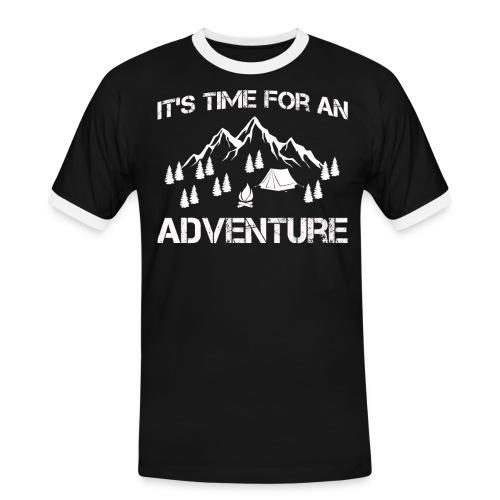 It's time for an adventure - Men's Ringer Shirt