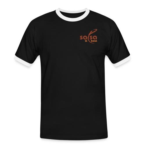 Salsa in Bonn Logo - Männer Kontrast-T-Shirt