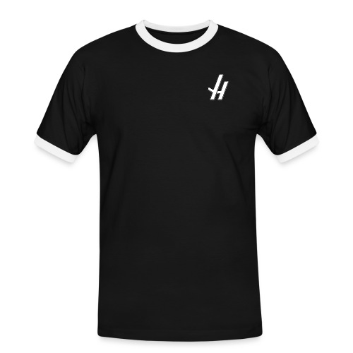 JH NEW png - Men's Ringer Shirt