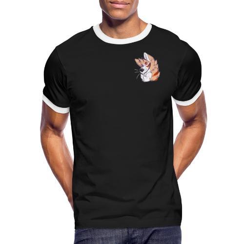 jjaassoo - Herre kontrast-T-shirt