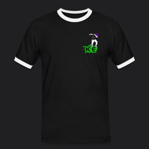 LogoAloneSmall png - Men's Ringer Shirt
