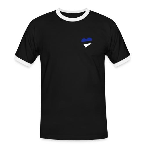 Men's Heart T Shirt - Men's Ringer Shirt