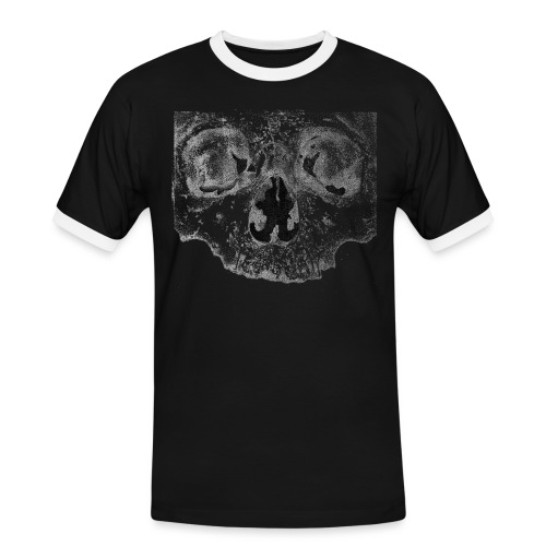 skull - Herre kontrast-T-shirt