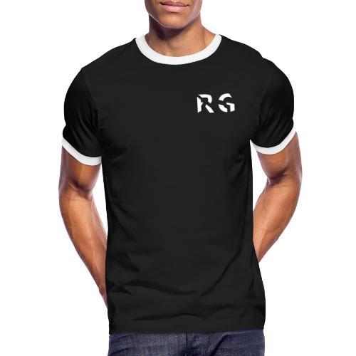 RG Wit Logo - Men's Ringer Shirt