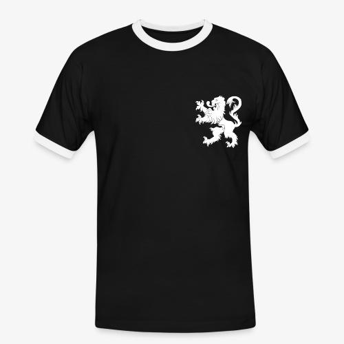 Blason Lions de Guerre Noir - T-shirt contrasté Homme
