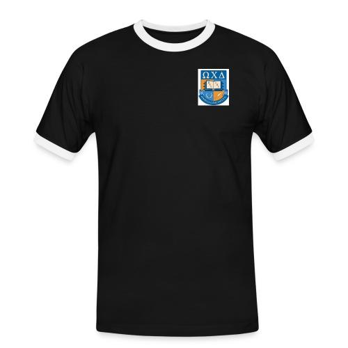omega chi delta - T-shirt contrasté Homme