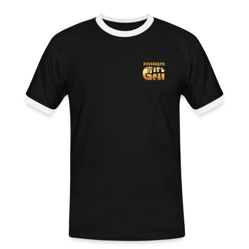 Reilingen ist geil - Männer Kontrast-T-Shirt