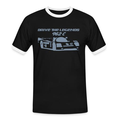 drive 962c - Männer Kontrast-T-Shirt