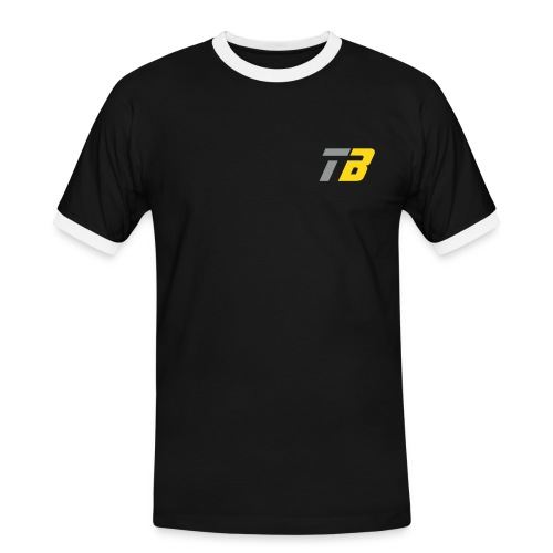 Logo Team Benninghofen - Männer Kontrast-T-Shirt