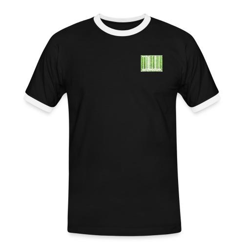 barras jpg - Camiseta contraste hombre