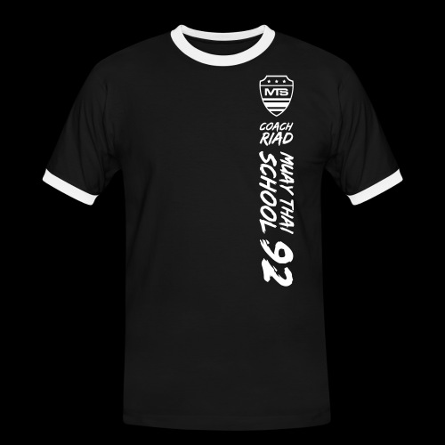 (mst92finalv3) - T-shirt contrasté Homme