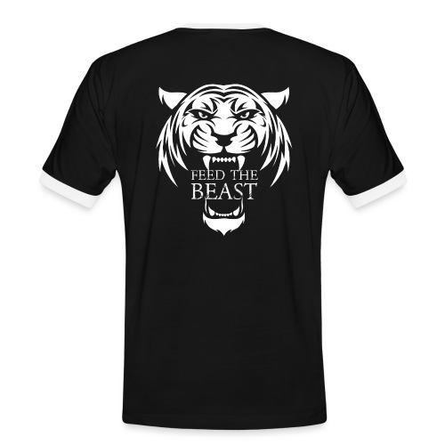 STRONGER - Feed The Beast - Mannen contrastshirt