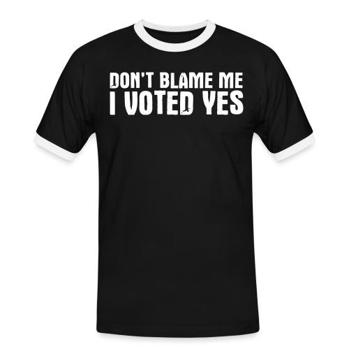 Don't Blame Me - Men's Ringer Shirt